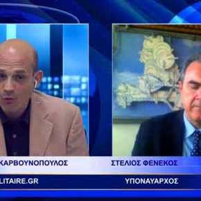 """""""Το σύνδρομο του καθεδρικού ναού έχει πλήξει την κυβέρνηση στο Σκοπιανό""""! ΣυνέντευξηΦενέκου"""