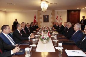 Ερντογάν: Η Τουρκία πάντα στο πλευρό τωνΤουρκοκυπρίων