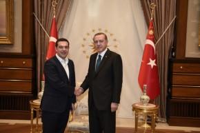 Ορίστηκε η συνάντηση Τσίπρα – Ερντογάν στιςΒρυξέλλες!
