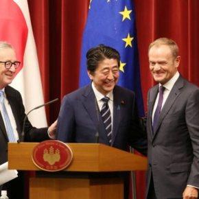 Εμπορική συμφωνία – μαμούθ υπέγραψαν ΕΕ καιΙαπωνία