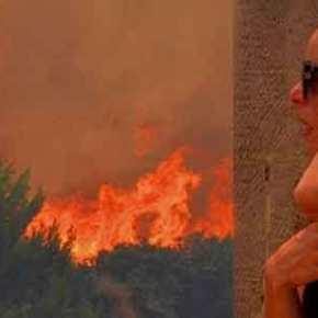 Εκατοντάδες εγκλωβισμένοι στο Κόκκινο Λιμανάκι της Ραφήνας: Θα καούν ή θα πνιγούν αν δεν γίνει κάτιΑΜΕΣΑ..
