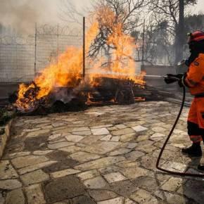 Φωτιά ΤΩΡΑ – Δήμαρχος Ραφήνας: «Υπάρχουν νεκροί από τηνπυρκαγιά»