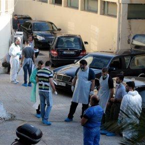 Εθνική τραγωδία: Απόγνωση και θρήνος στην ταυτοποίηση σορών στο Γουδή.Μαζί με τους συγγενείς λυγίζουν ακόμη και οιιατροδικαστές
