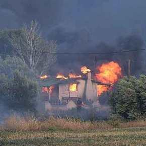 Προληπτική εκκένωση οικισμών σε Λουτράκι καιΑλεποχώρι