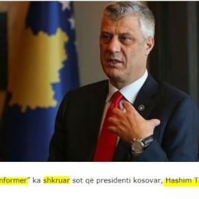 Σερβική εφημερίδα: «Ο πρόεδρος του Κοσόβου ζητάειπόλεμο»