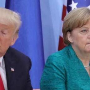 ΝΑΤΟ: Εξάψαλμος Τραμπ προς Μέρκελ για τις αμυντικέςδαπάνες