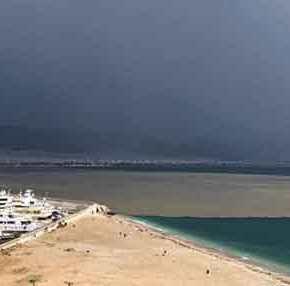 Απόκοσμο θέαμα στον Σαρωνικό: Δείτε το προκάλεσε η καταιγίδα στην θάλασσα(φωτό)