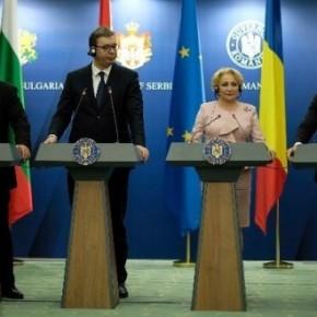 Σε εξέλιξη η τετραμερής σύνοδος Ελλάδας-Βουλγαρίας-Σερβίας-Ρουμανίας.Η ΕΛΑΣ έκλεισε τουςδρόμους