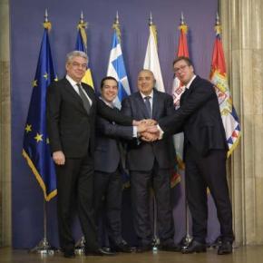 Θεσσαλονίκη: Δηλώσεις για τη συμφωνία των Πρεσπών κατά την διάρκεια της τετραμερούςσυνόδου