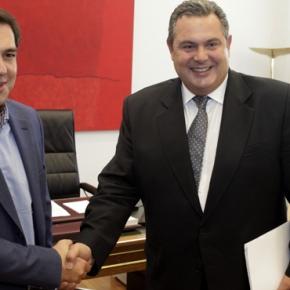 Ένα βήμα πιο κοντά τα δύο κόμματα -Τι συμφώνησαν Τσίπρας-Καμμένος