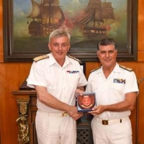 Επίσημη Επίσκεψη Αρχηγού του Ναυτικού της Μεγάλης Βρετανίας στην Ελλάδα –ΦΩΤΟ
