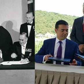 Όπως προδόθηκε η Κύπρος, προδόθηκε και η Μακεδονία – Σεφέρης προς Ευάγγελο Αβέρωφ το 1958: Μ' αυτά θα φέρετε τους Τούρκους στηνΚύπρο