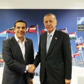 Tσίπρας: Δεν ήταν από τις πιο εύκολες η συνάντησή μου με τονΕρντογάν