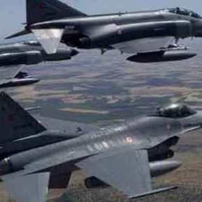 EKTAKTO: Εικονικοί βομβαρδισμοί από τουρκικά μαχητικά σε ελληνικάνησιά