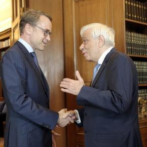 Παυλόπουλος σε Βάιντμαν: Η Ελλάδα θα τηρήσει τις δεσμεύσειςτης