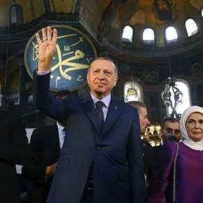 Απειλές Ερντογάν με «ύμνους» προν τον σφαγέα Κεμάλ: «Θα αλλάξουμε το μέλλον της περιοχής, έρχονται νέεςνίκες»