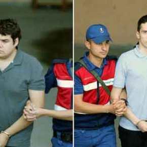 Τουρκικά ΜΜΕ: Ελεύθεροι οι δύο Έλληνες στρατιωτικοί που κρατούνταν στηνΑδριανούπολη