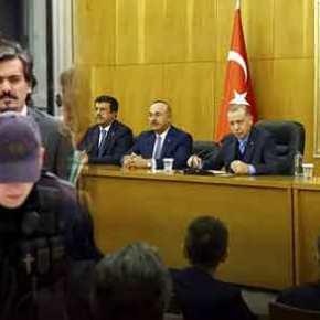 Νέα επίθεση της Άγκυρας: «Έγκλημα κατά της ανθρωπότητας η προστασία πραξικοπηματιών από τηνΕλλάδα»!