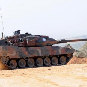 Leopard 2 HELL: Αυτό είναι το άρμα μάχης του ελληνικού στρατού – ΒΙΝΤΕΟ –ΦΩΤΟ