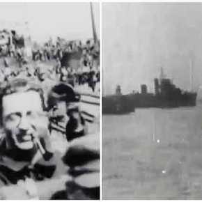 Βίντεο ντοκουμέντο: Η στιγμή που η 1η Μεραρχία Στρατού αποβιβάστηκε στη Σμύρνη – Συγκλονιστικάπλάνα