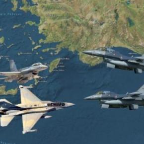 Αιγαίο: Παραβιάσεις στον αέρα και στη θάλασσα η συμπαράσταση τηςΤουρκίας