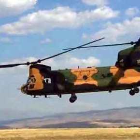 «Διπρόσωπες» οι ΗΠΑ: Υπογράφουν εμπάργκο όπλων & μετά παραδίδουν CH-47 Chinook στη Τουρκία για αποβάσεις στανησιά!