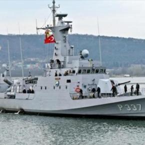 «Άνθρακας» τελικά η άσκηση του τουρκικού Πολεμικού Ναυτικού δυτικά τηςΚύπρου