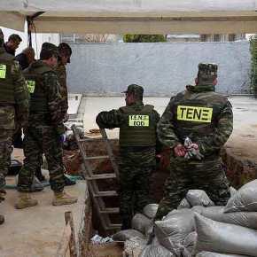 Σοβαρό ατύχημα στο ΤΕΝΞ – Τραυματισμός στρατιωτικού από έκρηξηχειροβομβίδας