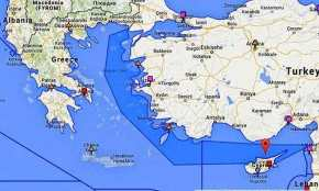 Η αναμέτρηση Ελλάδας-Τουρκίας σε Αιγαίο-Α.Μεσόγειο ξεκίνησε