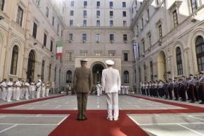 Α/ΓΕΕΘΑ: Συνάντηση του Ναυάρχου Αποστολάκη με τον Ιταλό ομόλογό του –ΦΩΤΟ