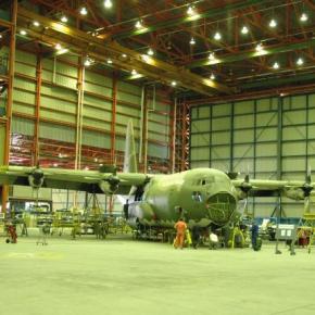 Η ΕΑΒ παραδίδει ένα από τα C-130 στην ΠολεμικήΑεροπορία