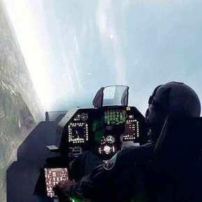 «Λαοθάλασσα» στη ΔΕΘ για τον προσομοιωτή των Ελληνικών «οχιών» F-16 VIPER!BINTEO
