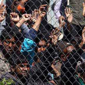 SOS στη Λέσβο: 8.500 μετανάστες σε χώρο για3.500