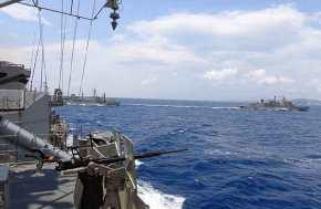 Απλώνεται ο Ελληνικός στόλος: «Σφραγίζει» το κεντρικό Αιγαίο το ΠΝ και στέλνει μήνυμα στηνΆγκυρα