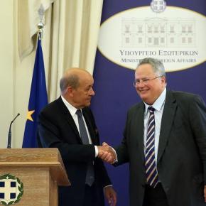 Κοτζιάς: «Ελλάς-Γαλλία- Συμμαχία», στρατηγική η σχέση των δυοχωρών