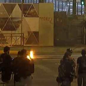 Επεισόδια στις πορείας για τον Φύσσα – Πετροπόλεμος και μολότοφ σε Πειραιά, Πάτρα, Θεσσαλονίκη(βίντεο)