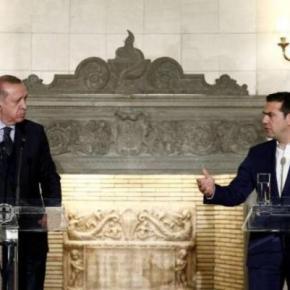 Η πρώτη συνάντηση Τσίπρα και Ερντογάν μετά την απελευθέρωση των 2στρατιωτικών