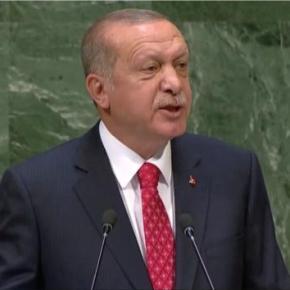 Απειλητικό μήνυμα Ερντογάν: «Δεν μπορεί να γίνει βήμα στην Κύπρο χωρίς την Τουρκία»[vid]