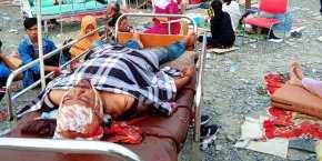 Ινδονησία – ΙΣΧΥΡΟΣ ΣΕΙΣΜΟΣ 7,5 ΡΙΧΤΕΡ Τραγωδία: Τουλάχιστον 30 νεκροί από το τσουνάμι – «Πολλά πτώματα» στιςακτές