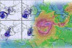 Επέλαση του κυκλώνα στη Μεσσηνία – Μετακινήσεις δυνάμεων στις περιοχές που θα πληγούν περισσότερο (βίντεο καιφωτογραφίες)