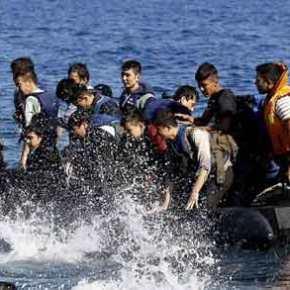 Βίντεο ντοκουμέντο: Τούρκος διακινητής ανενόχλητος αποβιβάζει λαθραίους μετανάστες στηΣάμο