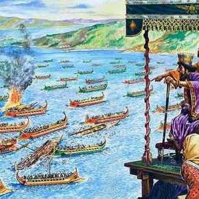 Σαν σήμερα το 480 π.Χ. έγινε η ναυμαχία τηςΣαλαμίνας
