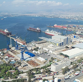 ΗΠΑ: Πρόταση εξαγοράς των ναυπηγείων Ελευσίνας καιΣκαραμαγκά