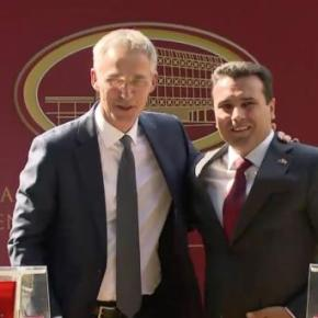 Στόλτενμπεργκ σε Σκοπιανούς: Με ΟΧΙ στη συμφωνία λέτε ΟΧΙ στο ΝΑΤΟ και στηνΕΕ