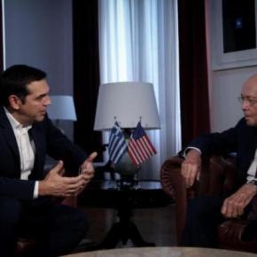 Τσίπρας: Συνάντηση με τον ΓουίλμπουρΡος