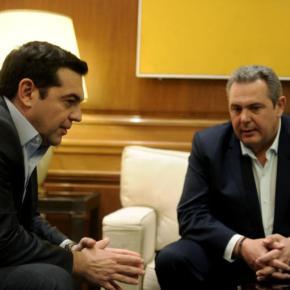 Εκλογές τον Μάιο «δείχνει» η χθεσινή συνάντηση Τσίπρα – Καμμένου! Τι του είπε οΠρωθυπουργός