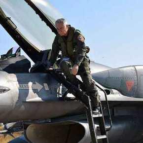Πτήση του Α/ΓΕΑ με F-16 στο Αιγαίο λίγες ώρες μετά από την πρόκληση των Τούρκων στηΛέσβο