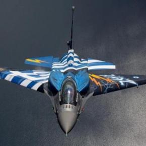Ελληνικό F-16 «γλέντησε» F-35 στο Kleine Brogel Air Show2018