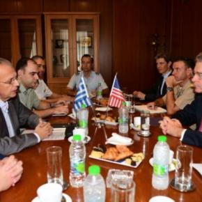 ΑΝΥΕΘΑ : Συνάντηση κορυφής με τον Πρέσβη των ΗΠΑ Τζέφρι Πάϊατ –ΕΙΚΟΝΕΣ