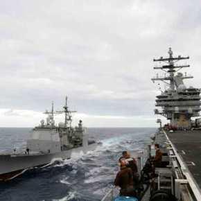Κλίμα σύγκρουσης στην Α.Μεσόγειο: «Μόνιμη η παρουσία αμερικανικών πολεμικώνπλοίων»